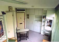 名古屋女子学生会館の居室一例